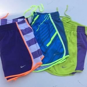 Nike || Dri-Fit Running Shorts Bundle